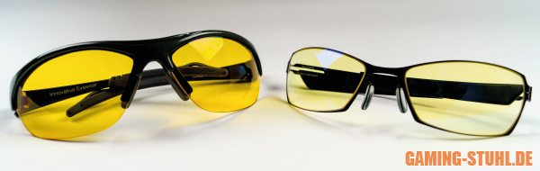 Verschiedene Zocker Brillen wurden getestet - Ergebnis: Sinnvoll!