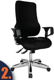Sitness Stuhl für den Schreibtisch auf dem zweiten Platz des Tests.