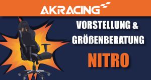 AKRacing Nitro Gamer Stuhl Serie Beitragsbild.
