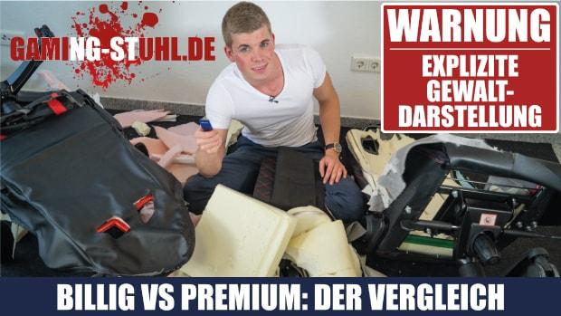 Billig vs epic lohnt sich ein teurer gaming chair for Stuhl quietscht