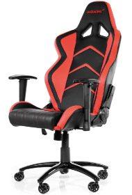 Dieser Player in rot ist ein stylischer Gamerstuhl.