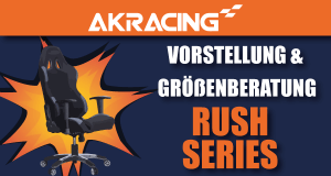 AKRacing Rush-Serie.