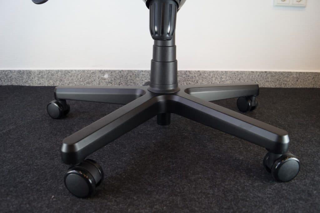 Pulverbeschichtetes Aluminium Fußkreuz