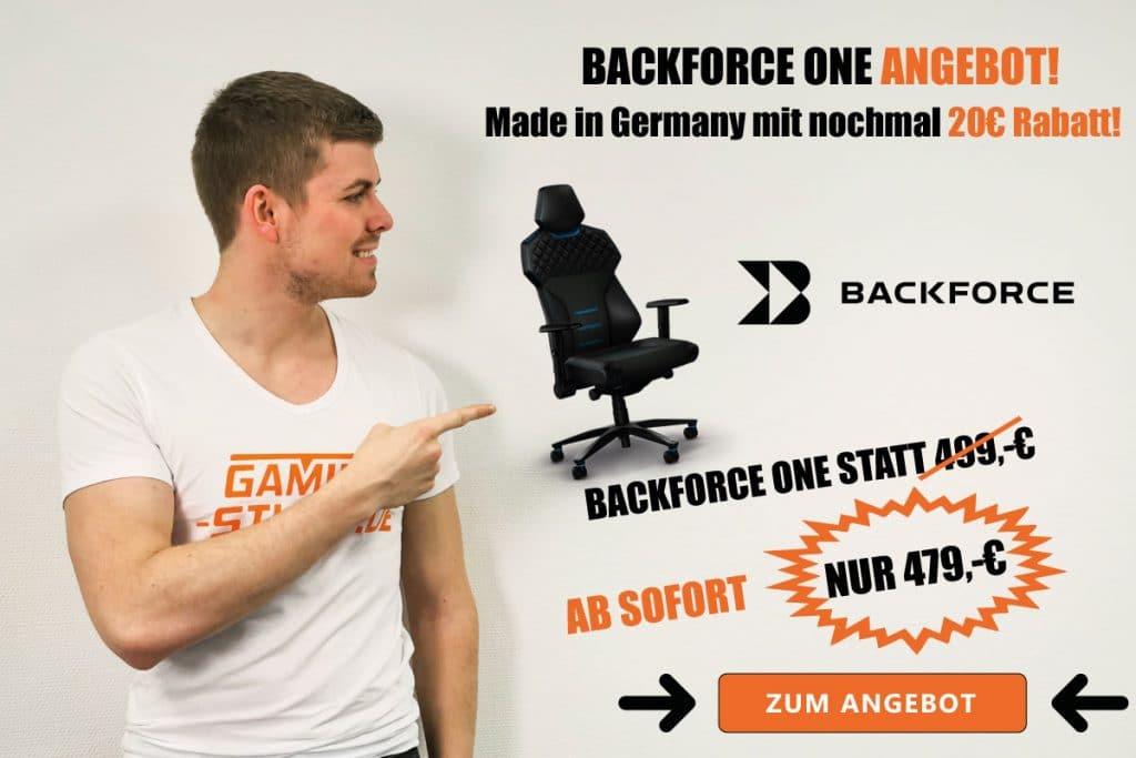 Backforce One Angebot