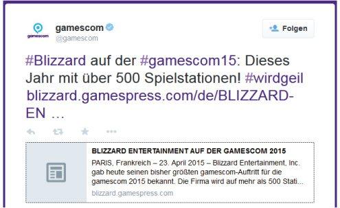 Auf Gaming Stühlen wird auf der GamesCom das beste von Blizzard gezockt.