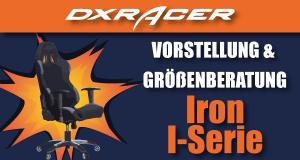 DXRacer Iron-Serie Beitragsbild.