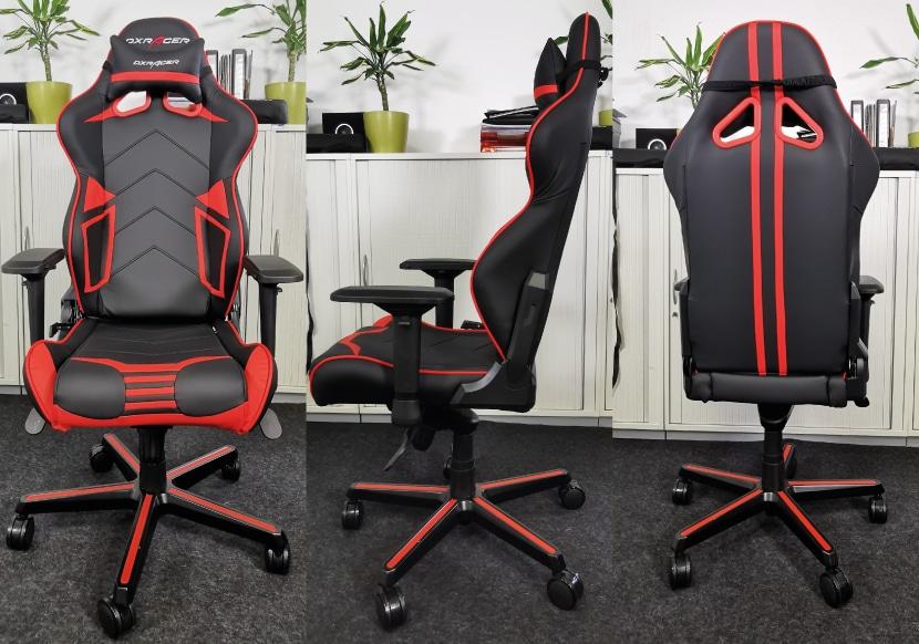 Der Stuhl zum DXRacer R-Serie Test im Profil