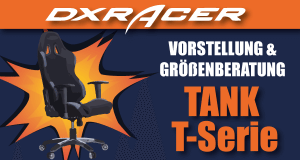 DXRacer Tank Series / T-Serie.
