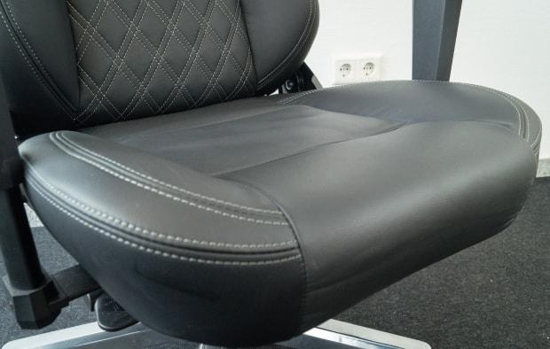 Echtleder Sitzfläche im Test