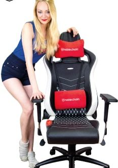 Noblechairs tests beratung zur luxus gaming stuhl marke for Sessel quietscht
