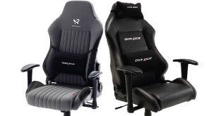 Profi Gaming Chair Leder Amp Stoff