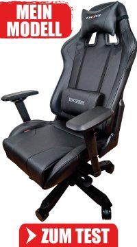 Bester Gaming Stuhl für den PC aus dem DXRacer K-Serie Test in der Sidebar.