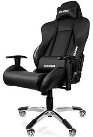 Sehr bequem ist der schwarze Premium V2 - einer der besten AKRacing Stühle im Test!