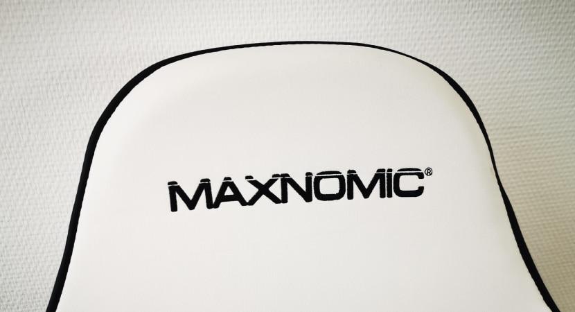 Maxnomic im Test: Kopfbereich mit Logo