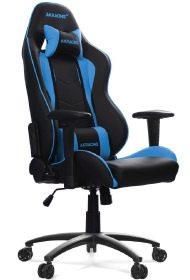 Gaming Sitz in blauer Farbe.