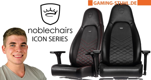 noblechairs icon gaming stuhl test kauf gr enberatung. Black Bedroom Furniture Sets. Home Design Ideas