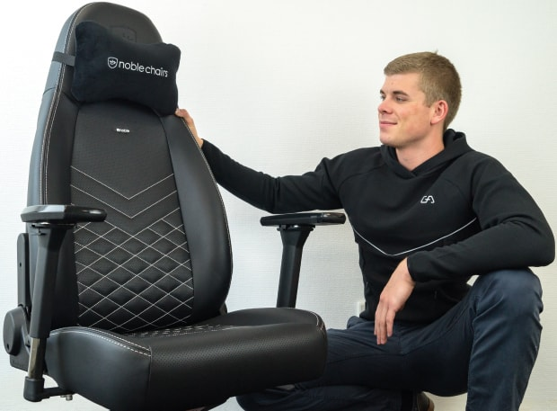 noblechairs ICON Series Test mit Tjorven
