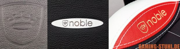 """noble""-Logo-Applikationen der EPIC-Serie."