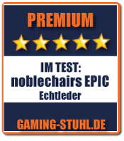 Noblechairs Review Ergebnis: Premium.
