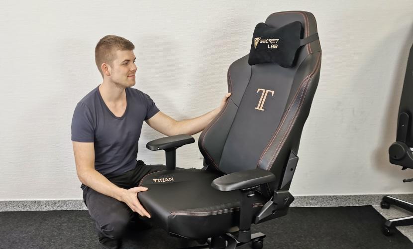 Secretlab TITAN kaufen? Tjorven mit Stuhl