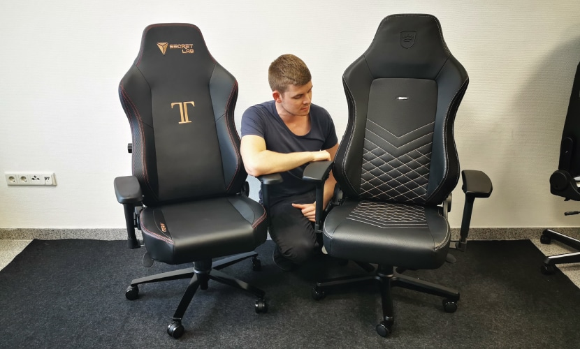 Secretlab TITAN vs nobelchairs HERO