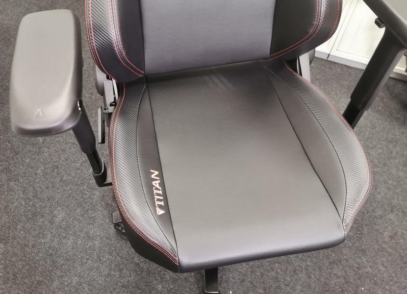 Foto einer großen Sitzfläche