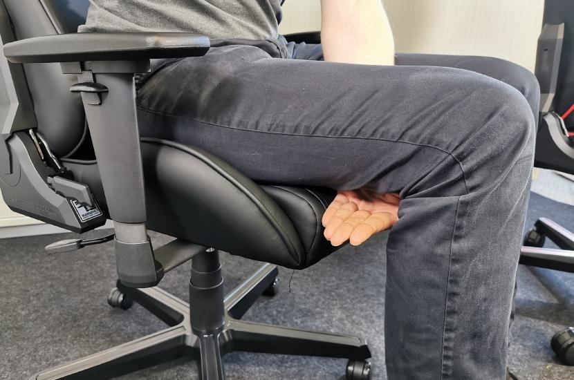 Sitztiefe bei 189cm Körpergröße