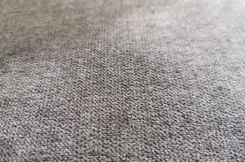 Nahaufnahme des Soft Fabric Stoffbezugs