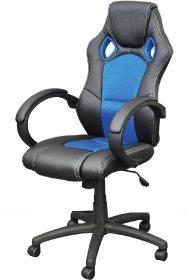 Terenas blauer sportlicher Sitz.