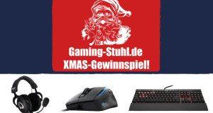 Das Gaming-Stuhl Weihnachten Gewinnspiel-