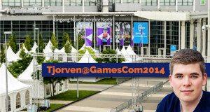 Tjorven von Gaming Stuhl auf der GamesCom 2014