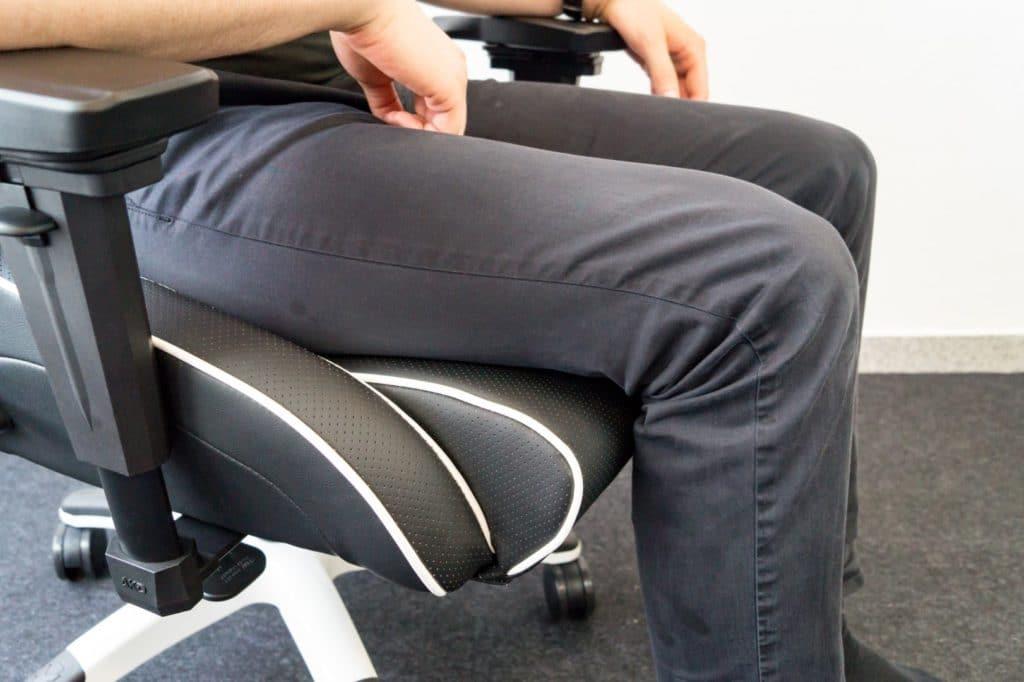 Tjorvens Beine auf Master Pro