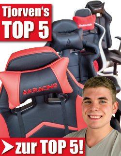 Tjorven's Top 5 Gaming Stühle im Test