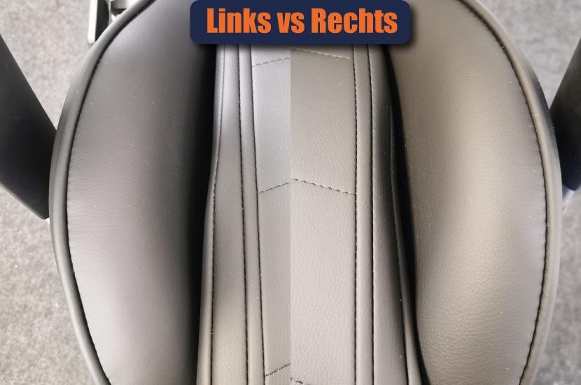 Ungenauigkeit bei Sitzfläche links und rechts