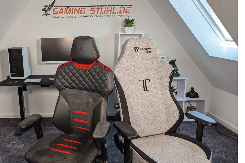 Verschiedene PC Stuhl Designs