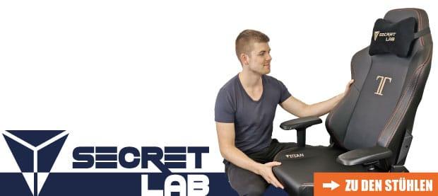 Zu den Secretlab Stühlen